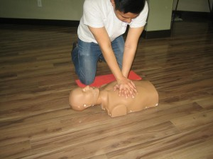 CPR and Emergency first aid training in Winnipeg