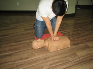 Workplace approved standard first aid and CPR re-certification in Winnipeg