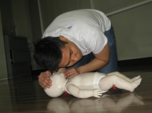 Standard childcare first aid and CPR re-certification in Winnipeg