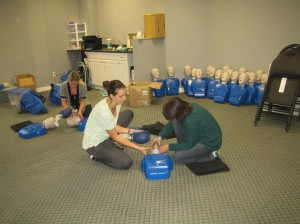 Private first aid and CPR courses