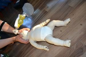 Choking-infant